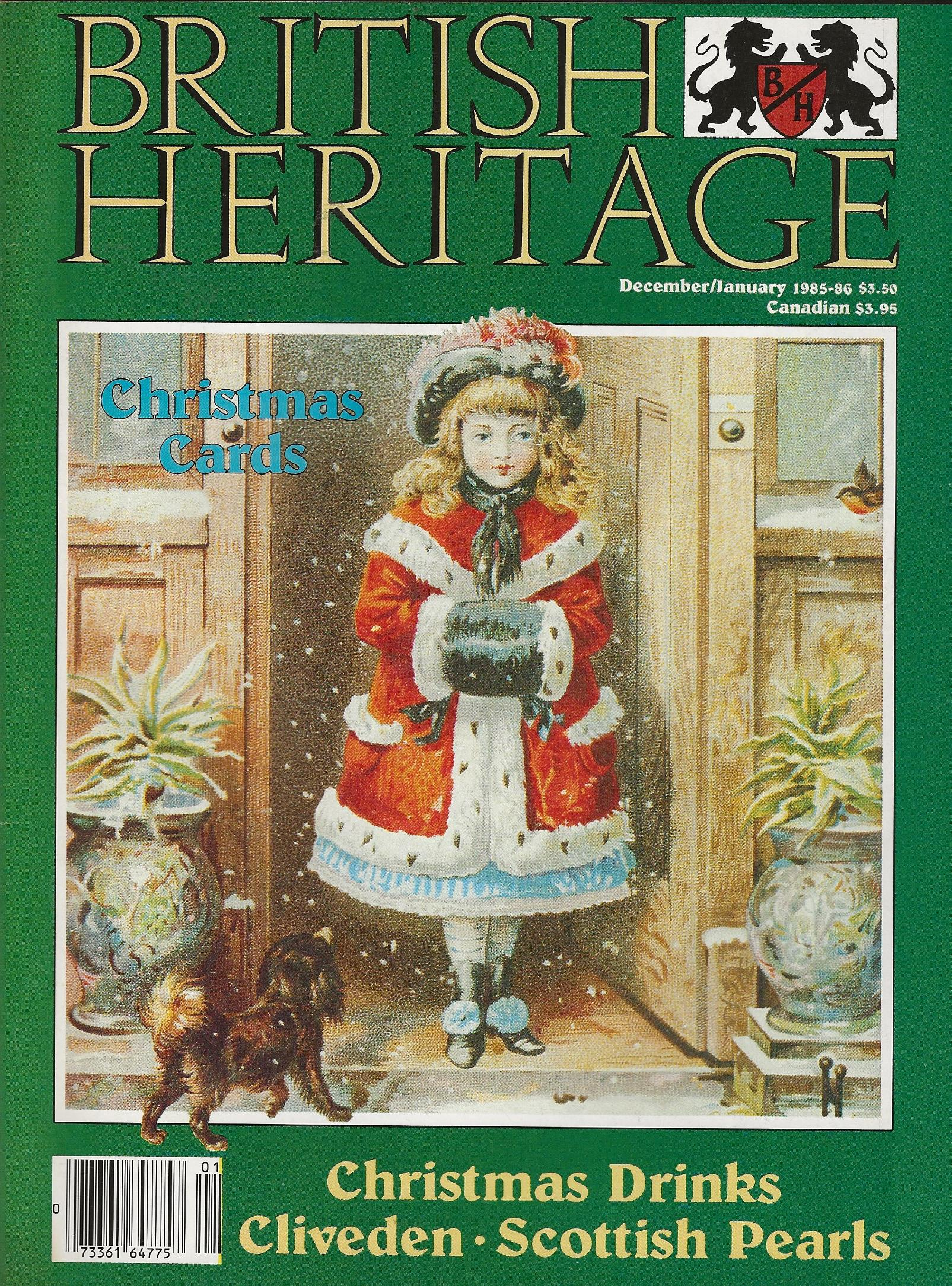 Image for BRITISH HERITAGE ~ December 1985 / January 1986