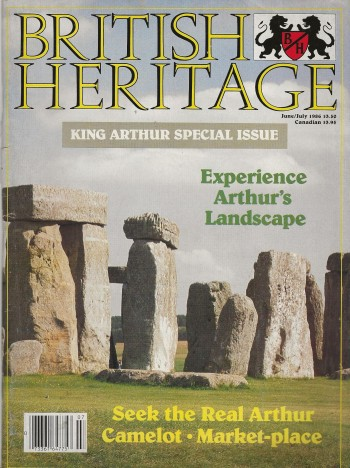 Image for BRITISH HERITAGE ~ June / July 1986