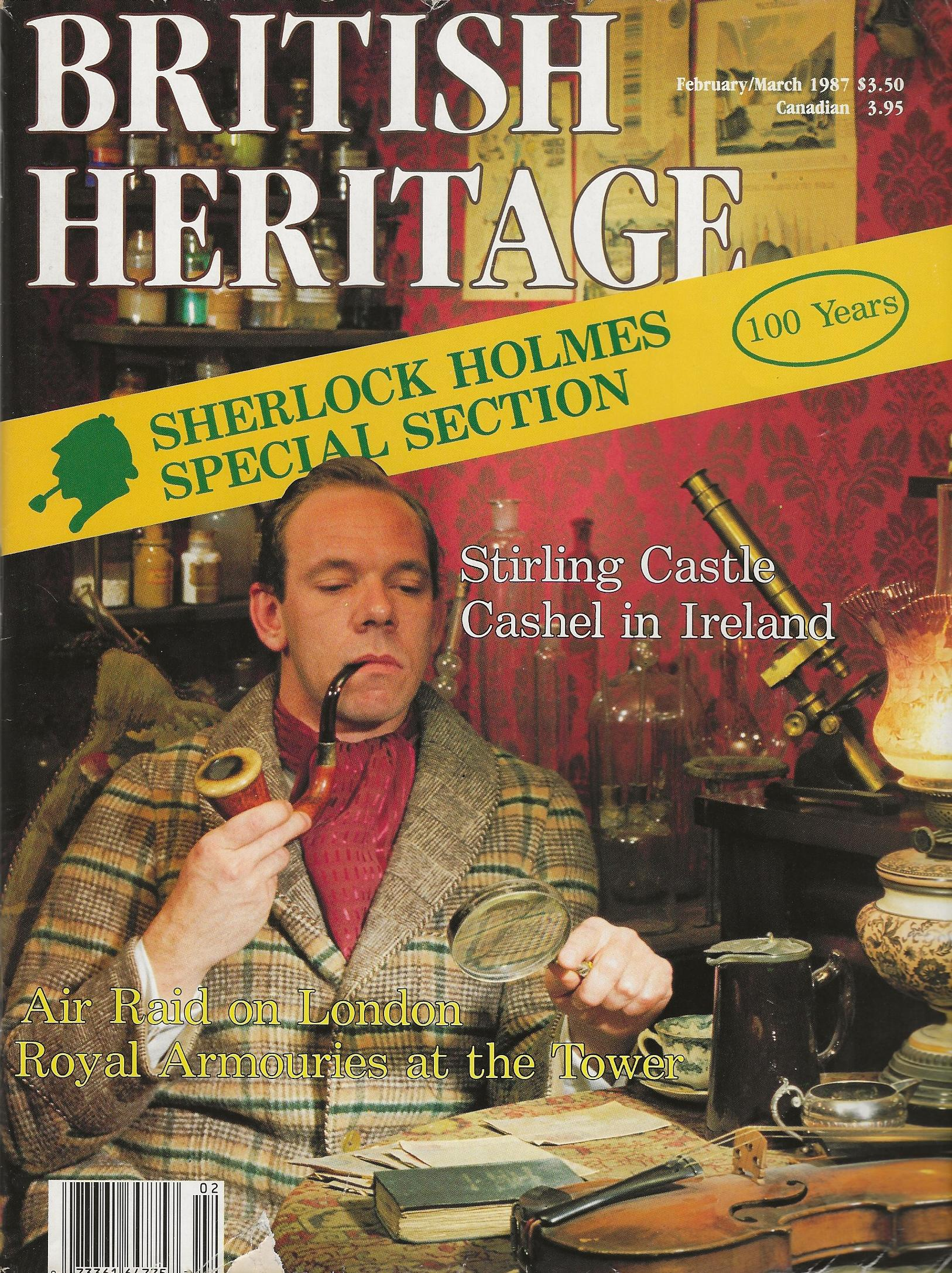 Image for BRITISH HERITAGE ~ February / March 1987