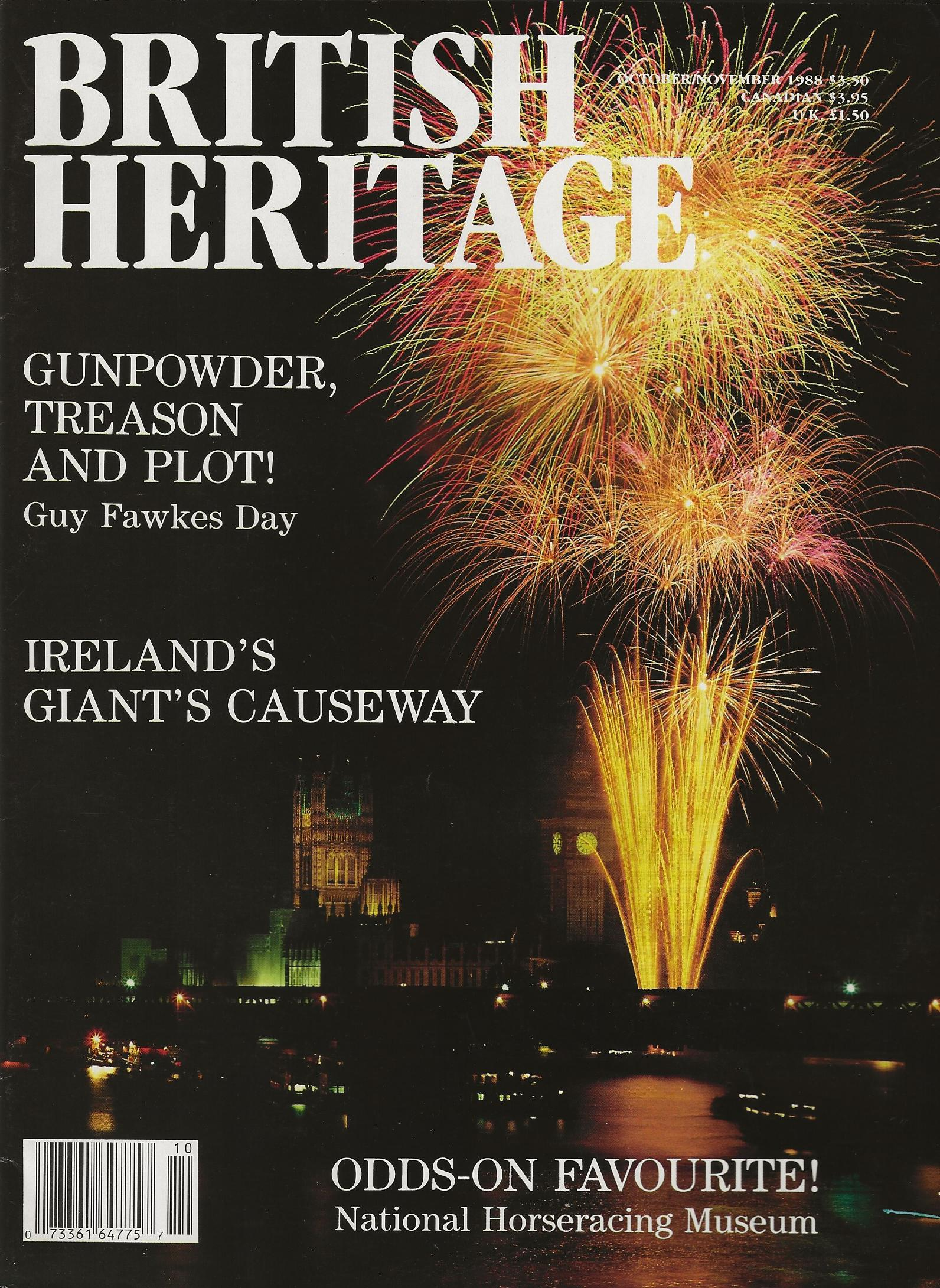 Image for BRITISH HERITAGE ~ October / November 1988