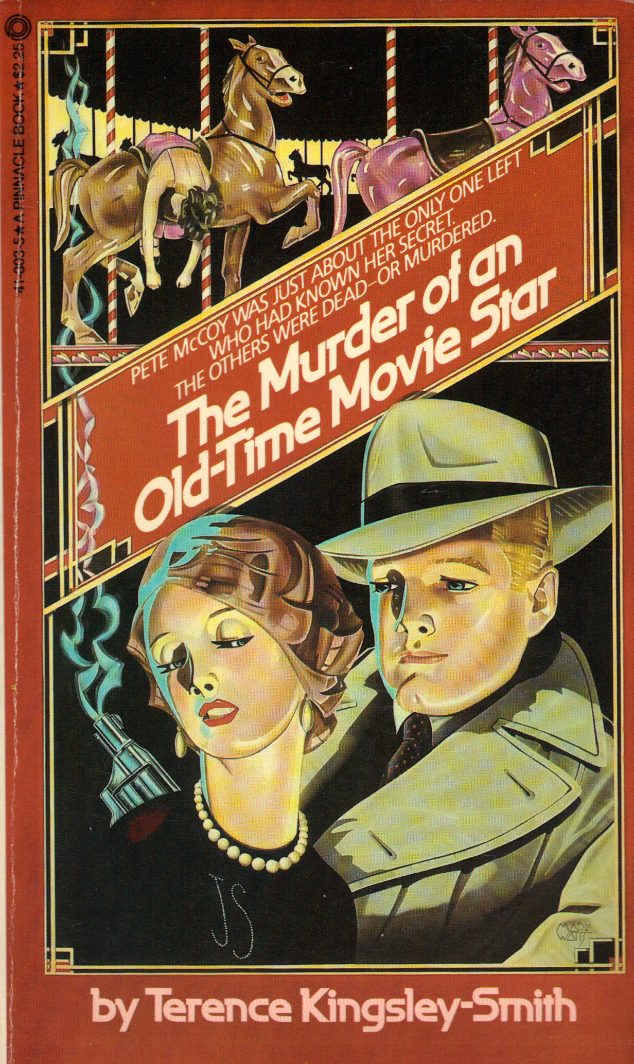 Image for THE MURDER OF AN OLD-TIME MOVIE STAR