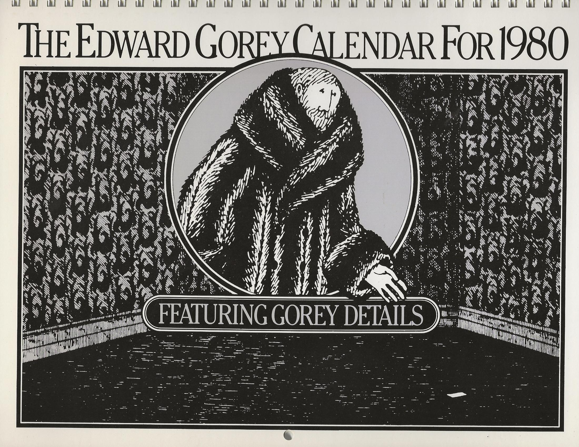 Image for THE EDWARD GOREY CALENDAR FOR 1980