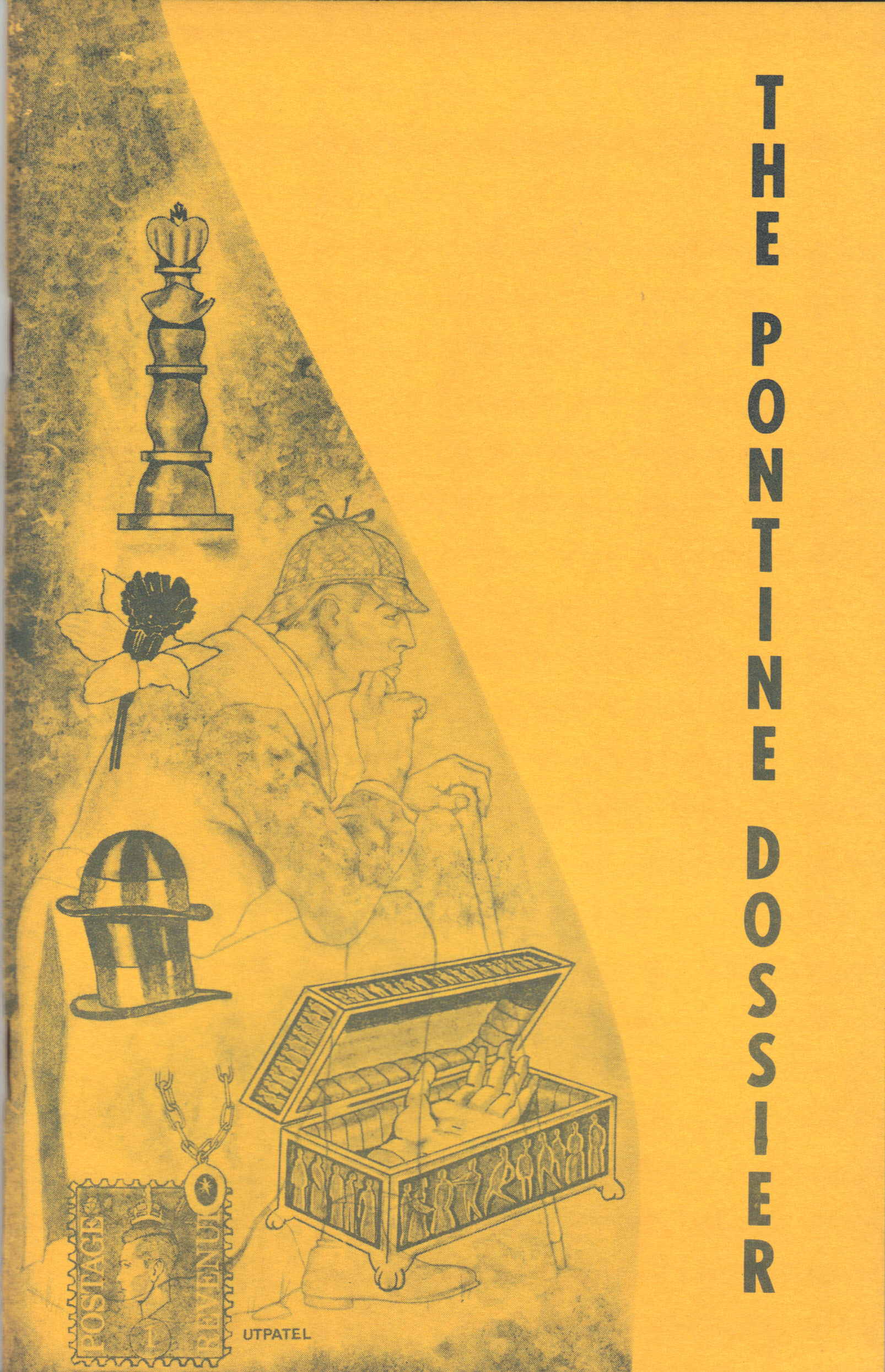 Image for THE PONTINE DOSSIER ~ 1977