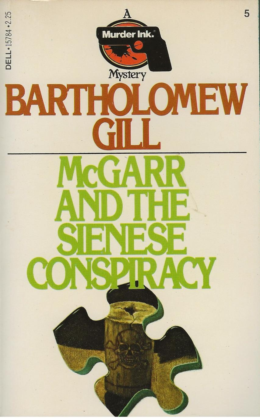 Image for MCGARR AND THE SIENESE CONSPIRACY