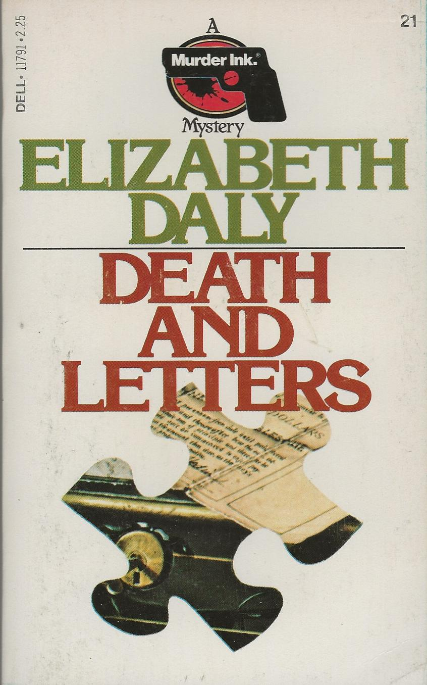 Image for DEATH AND LETTERS