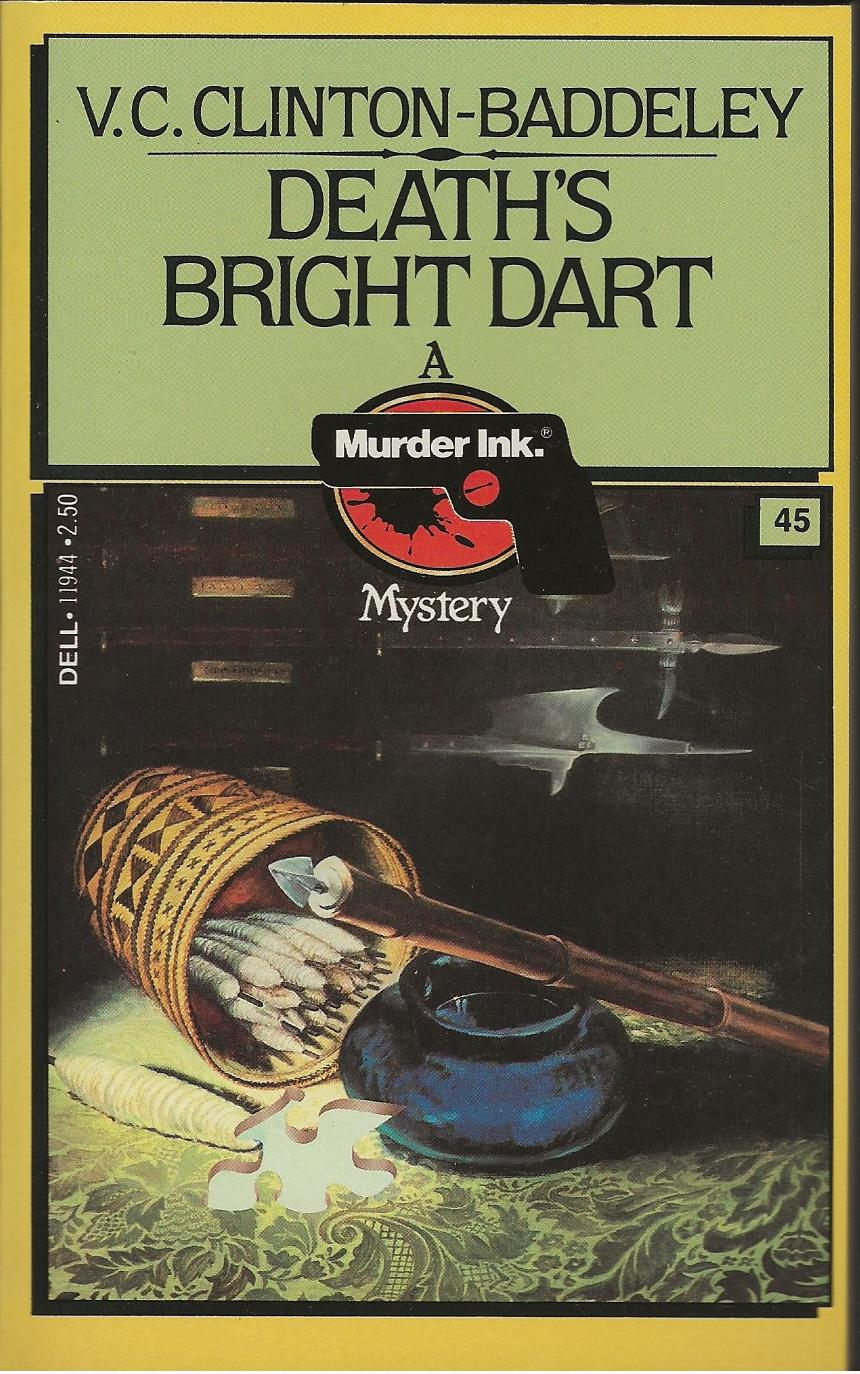 Image for DEATH'S BRIGHT DART
