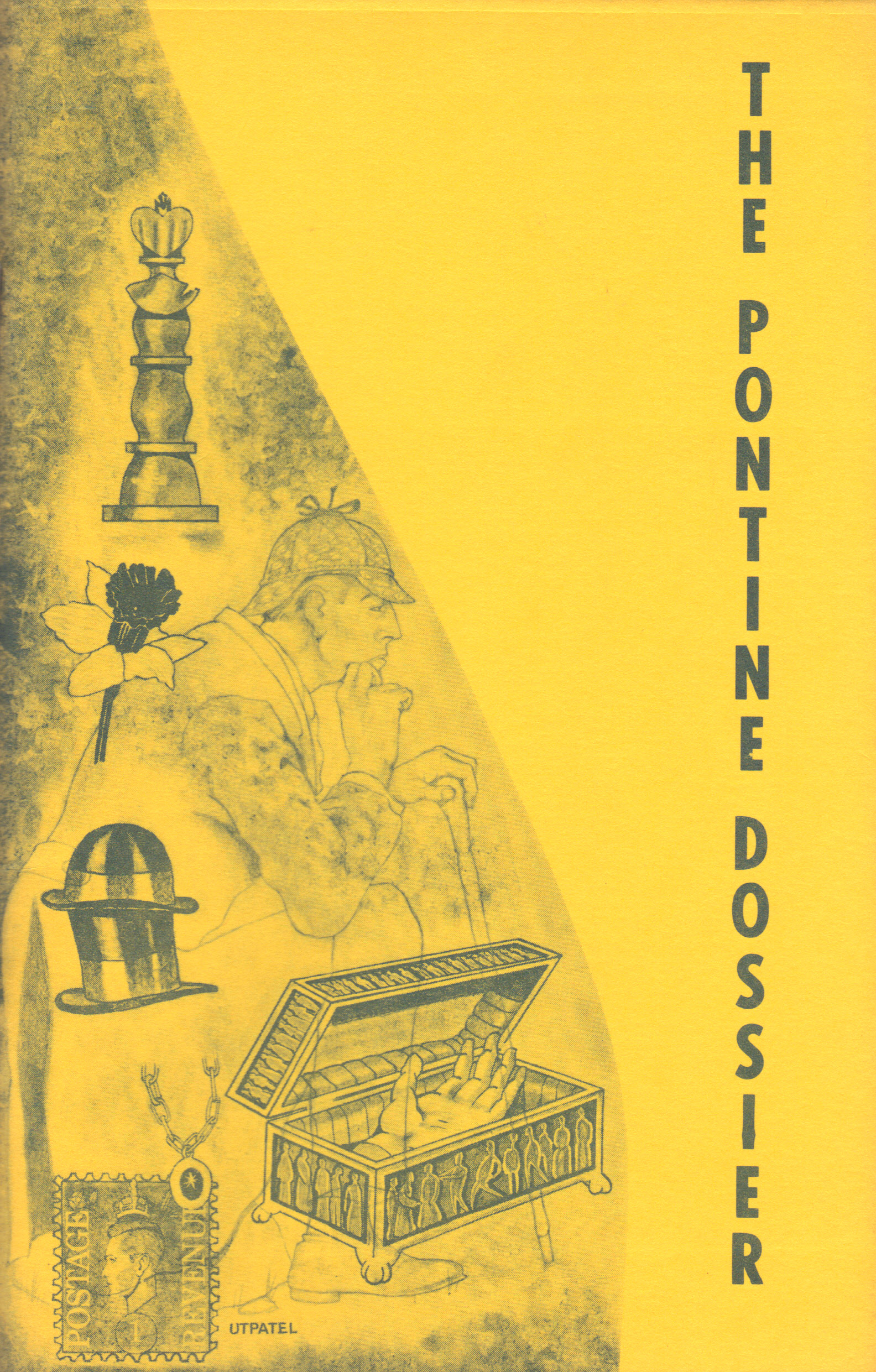 Image for THE PONTINE DOSSIER ~ 1977 Edition