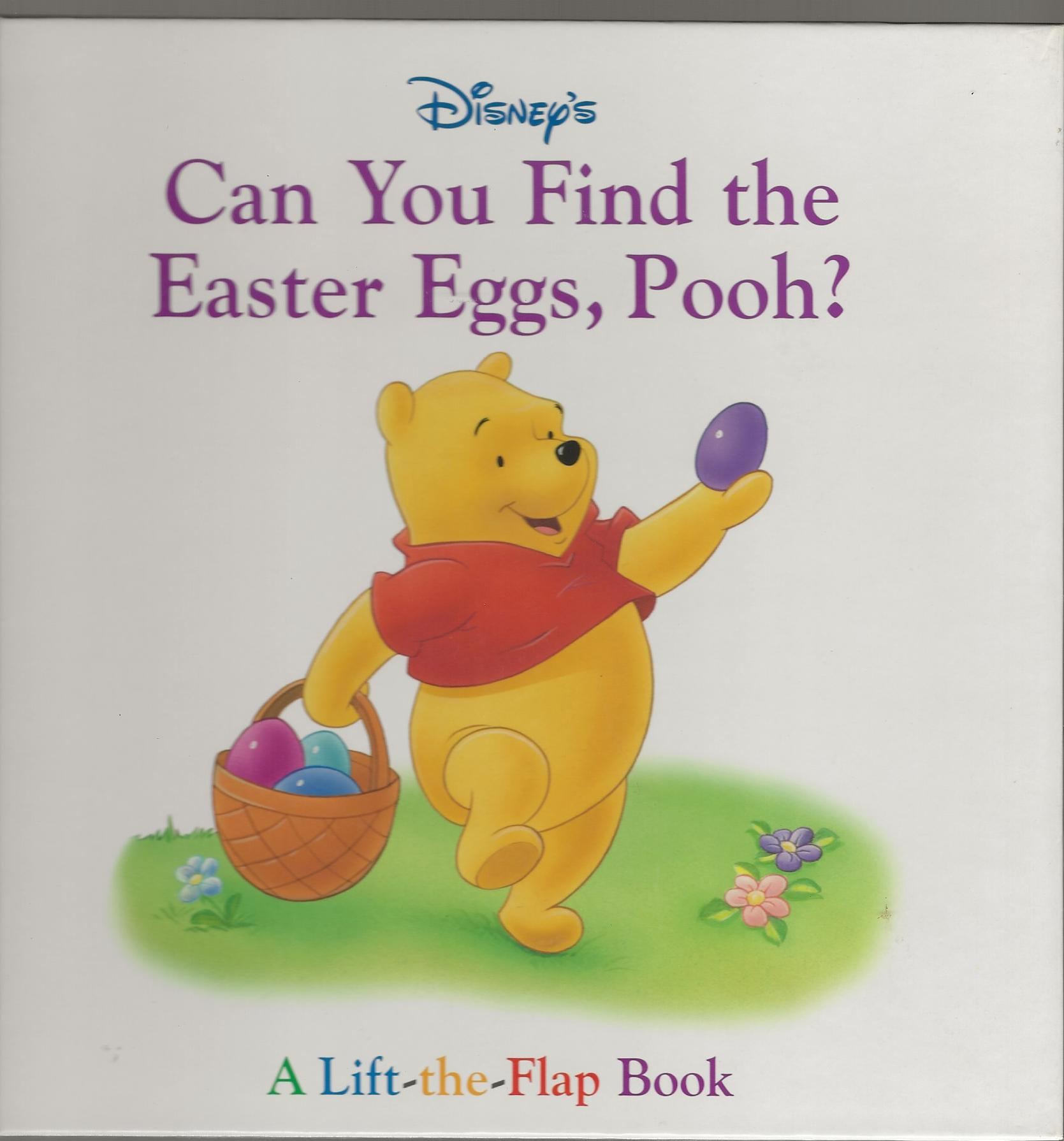 Image for CAN YOU FIND THE EASTER EGGS, POOH?