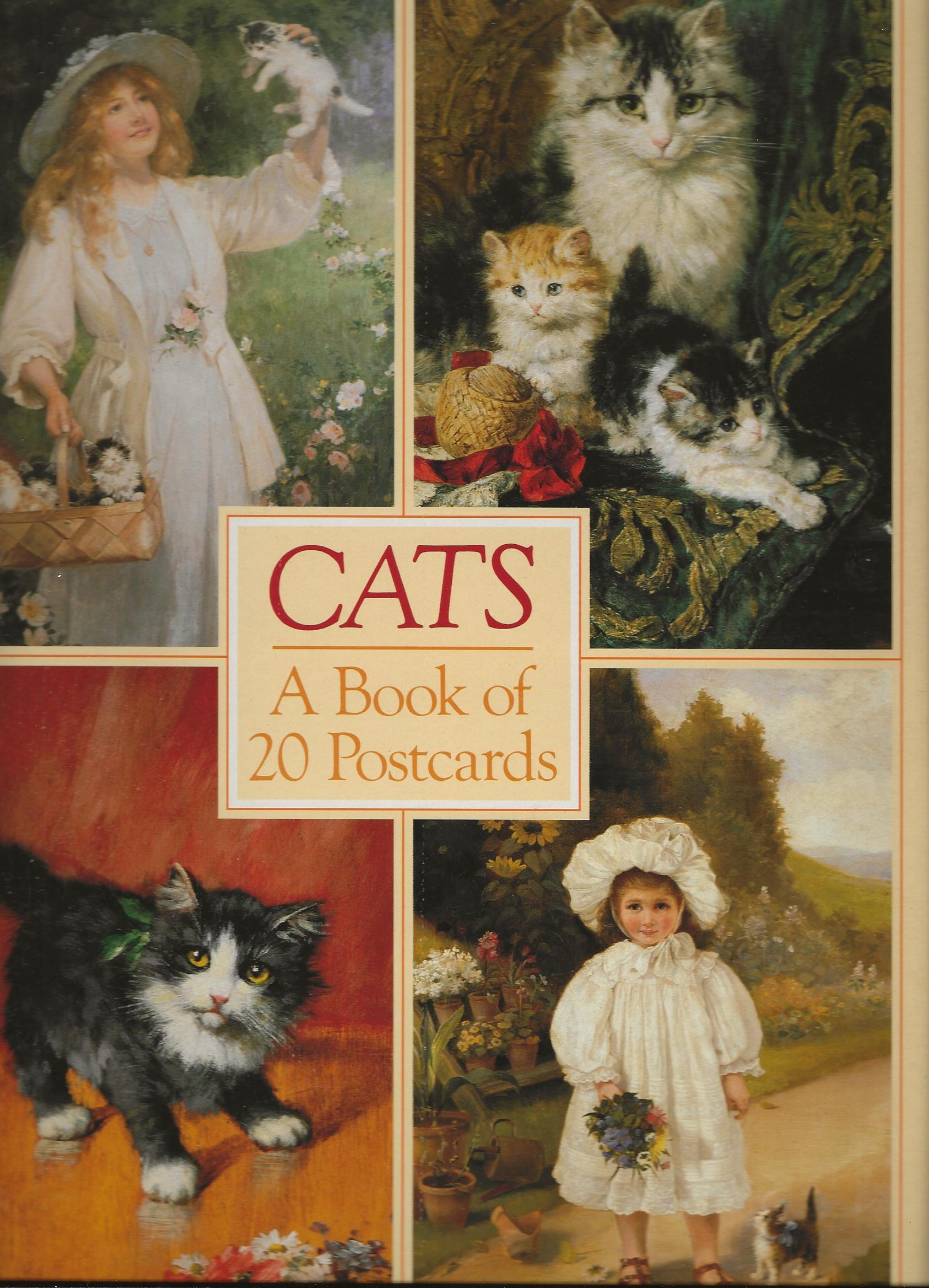 Image for CATS ~ A Book of 20 Postcards